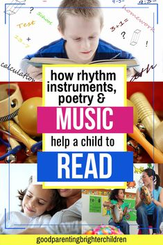 6 powerful music activities for elementary-age kids & young children that increase reading, math, memorization and concentration skills. Music makes the reading process easier for kids—learn what music neuroscience teaches. Music Activities For Kids, Music For Kids, Kindergarten Activities, Infant Activities, Listening Skills, Reading Skills, Reading Process, Music And The Brain, Music Education