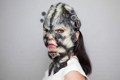 Björk will wear 3D-printed masks in upcoming shows because Björk | TechCrunch