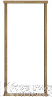Exterior Oak Single Frame Exterior, Doors, Mirror, Frame, Furniture, Home Decor, Picture Frame, Decoration Home, Room Decor
