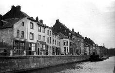 Hasseltkade en Kanaal vóór doorbraak ±1925