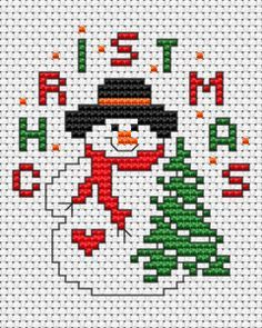 Resultado de imagen para free christmas tree cross stitch patterns