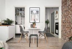 北歐6坪紅磚牆多肉植物公寓套房 | 設計王 DesignWant