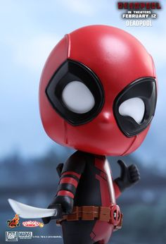 Hot Toys : Deadpool - Deadpool Cosbaby(S) Bobble-Head