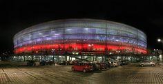 @stadionwroclaw illumination  before the match Poland vs. The Czech Republic #laczynaspilka