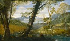 It might be said that with paintings like this one, Annibale Carracci invented the landscape as a subject for Italian baroque painting. National Gallery Of Art, National Art, Art Gallery, Baroque Painting, Baroque Art, Italian Paintings, European Paintings, Caravaggio, Landscape Art