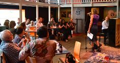 Our lovely audience in De Badcuyp, Amsterdam