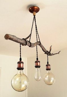 2019 Is The Year Industrial Lighting Design Will Stand Out Lighting ideas to light up your hallway d Chandelier, Lamp, Diy Home Decor, Home Diy, Light, Rustic Lighting, Home Deco, Home Decor, Lights
