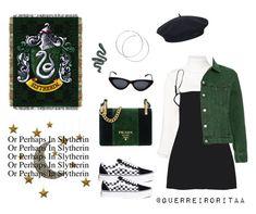 Designer Clothes, Shoes & Bags for Women Alexandre Vauthier, Le Specs, Warner Bros, Slytherin, Prada, Vans, Interiors, Inspired, Shoe Bag