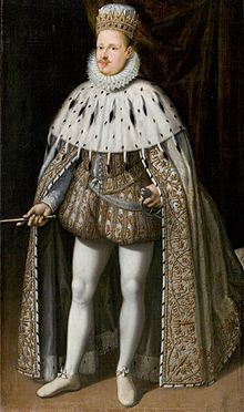 Vincenzo I Gonzaga in Coronation robe 1587