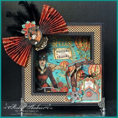 Steampunk Spells Matchbook Box by Robin Shakoor