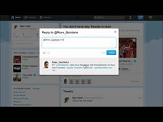 Twitter Tutorial 2 - The Basics How To Tweet, Reply and Follow - Social ...