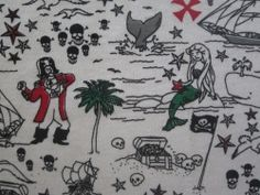 Pirates Cotton Knit Fabric