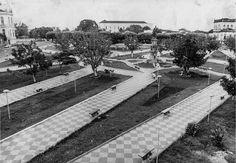 Recuperação da Praça da Saudade. Manaus. Acervo: Moacir Andrade.