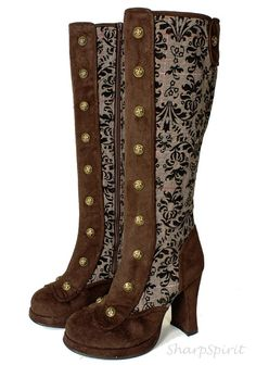 d1a3da7ce4e Preowned Tom Ford 2d Floral Embroidered Over-the-knee Boots ( 3
