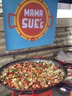Mama Sue's Paella, November, Ethnic Recipes, Food, November Born, Essen, Meals, Yemek, Eten