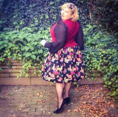 misskittenheel vintage plussize Hellbunny Hermeline Kathleen Dinrdl Oktoberfest…