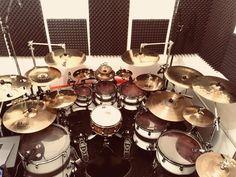 Drum Set Music, Drums Studio, Diy Drums, How To Play Drums, Dope Music, Snare Drum, Drum Kits, Heavy Metal, Acoustic