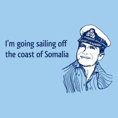 Sailing Off Somalia