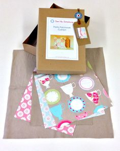 Patchwork Cushion Sewing Kit
