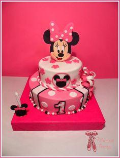 Minnie Mouse Cake  Mini Maus torta  Balerina Torte Jagodina…