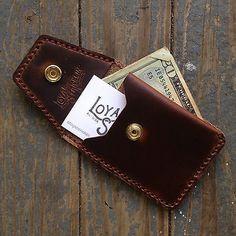 Loyal-Stricklin-Leather-Front-Pocket-Wallet