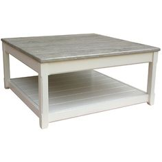 Cottage Square Coffee Table in Chocolate
