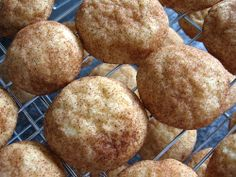 snickerdoodle cookies (if you make 48 cookies from the recipe = 2 WW points each) - awesome.