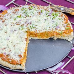 Pav Bhaji, Mumbai's favorite street food is something that most of us love and enjoy having. A mixture of boiled and mashed vegetables, on. Indian Potato Recipes, Vegan Indian Recipes, Veg Recipes, Curry Recipes, Other Recipes, Real Food Recipes, Pizza Recipes, Indian Cheese