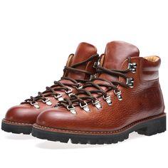 Fracap M127 Roccia Vibram Sole Scarponcino Boot (Tobacco & Black)