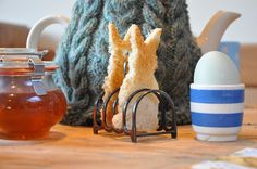 eggs and bunny 'soldiers' to dip with! Bradshaw & Sons