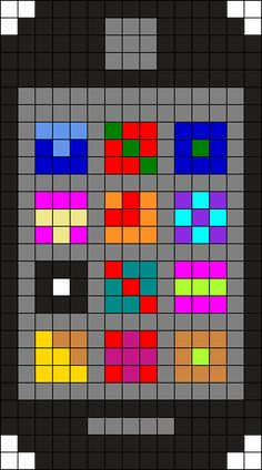 Iphone Perler Bead Pattern / Bead Sprite