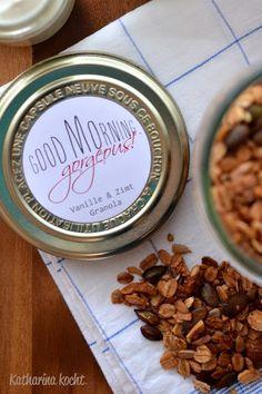 Zuckerfreies Vanille & Zimt Granola auf www.katharinakocht.com