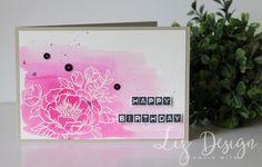 Vandaag wil ik jullie graag een kaartje laten zien met een set die we al wat langer kennen, maar zo mooi is! De Birthday Blooms set, gelu...