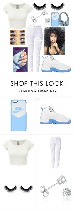 """Untitled #320"" by xoxoryssa ❤ liked on Polyvore featuring NIKE and Amanda Rose Collection"