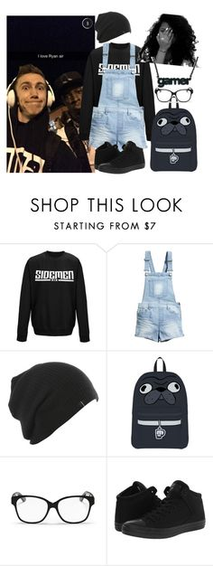 """""""Hangin' Out With Simon and Tobi..."""" by kaykay-mara ❤ liked on Polyvore featuring H&M, Christian Dior, Converse and sidemen"""