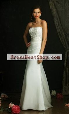 Allure Bridals 921: buy this dress for a fraction of the salon price on PreOwnedWeddingDresses.com