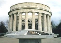 Grave of President Warren G Harding at the President Warren G Harding Tomb in Marion, Ohio. Served from 1921-1923.