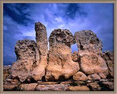 Malta Hagar Qim, worlds oldest standing stones