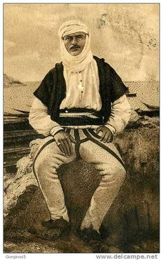 Malisor. Montagnard albanais du nord. Mountain man from Northern Albania.