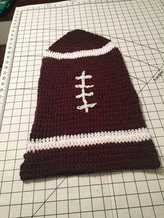 Hand Crocheted Football Baby Cocoon by SHUSHYBUY on Etsy