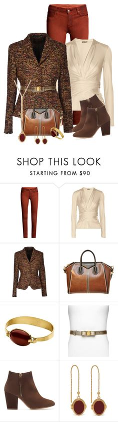"""""""Need For Tweed"""" by michigangirl84 ❤ liked on Polyvore featuring Helmut Lang, Issa, Tagliatore, Givenchy, Dyrberg/Kern, Salvatore Ferragamo, Zara and Mulberry"""