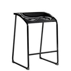 Scaun inalt bar cadru metalic pret promotional design modern