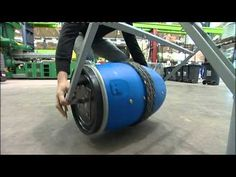 A BBC report on Richard Hewitt's SpinCycle invention - an attachable device for a bicycle used for washing clothes in the developing world.