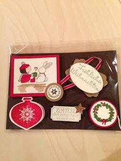 """Heikes Kreativseite: Card Candys zum Thema """" Weihnachten """" Candy Cards, Christmas"""