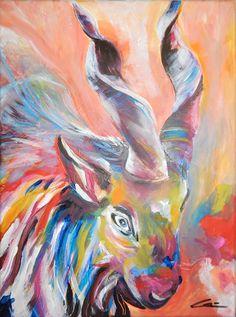 #Acrylbild Melanie Geis