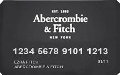 Abercrombie & Fitch Credit Card Review - http://www.rewardscreditcards.org/abercrombie-fitch-credit-card-review/