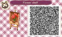 Flower Vase Inset - Animal Crossing New Leaf QR Code