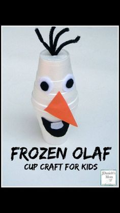 Olaf cup craft
