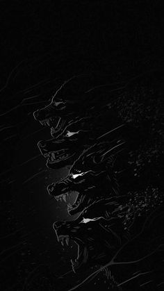 Black Wolf IPhone Wallpaper - IPhone Wallpapers