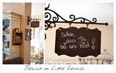 Ein Dekoherzal in den Bergen: BESUCH IM CAFE GENUSS